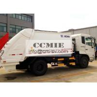 Wholesale Urban Domestic Refuse Collection Special Vehicles with Larg Pressure Sealed Container from china suppliers