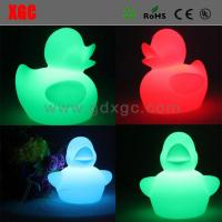 Wholesale Duck Shape PE Material Decorative Luminous Lights from china suppliers