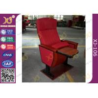 Wholesale Mounted Floor Walnut Wood Colour Fabric Public School Auditorium Chairs from china suppliers