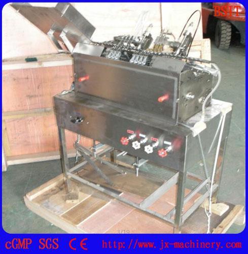plastic ampoule filling sealing machine