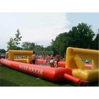 Wholesale Adult Hot Welding Inflatable Soap Soccer Field / Interactive Inflatable Water Games from china suppliers