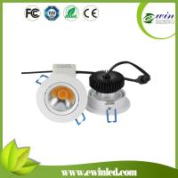 Wholesale 220v round led cob ceiling downlight from china suppliers