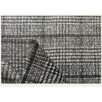 Wholesale One side Tartan , Black And White Hounds tooth / Swallow Grid Plaid Fabric from china suppliers