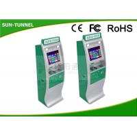 Wholesale Inspection Report Printed  Medical Check In Kiosk , Card Recharge Automated Kiosk Machines from china suppliers