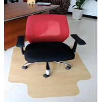 Wholesale Recycled Foldable Thick Wood Floor Chair Mat For l Shaped Desk , Custom Size from china suppliers