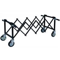 Quality 4 Handles 2 Or 4 Brakes Coffin Funeral Trolley Stainless Steel for sale