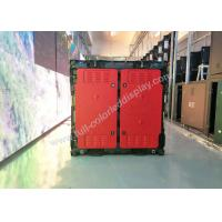 Wholesale P5 960x960 mm Indoor Advertising LED Display , Die casting rgb led panel easy installation from china suppliers