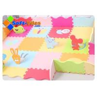 Buy cheap Children PlayMat With Rails Animals from wholesalers