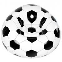 Buy cheap comfortable football design relax inflatable soccer sofa chair,soccer ball shaped lounge inflatable sofa from wholesalers