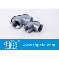 Wholesale EMT Conduit And Fittings Zinc Die Cast Set-screw EMT Pull Elbows With Gasket from china suppliers