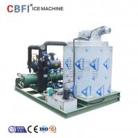 Wholesale 25 Hp Semi Hermetic Compressor Flake Ice Machine -5℃ ice temp 5 ton / day from china suppliers