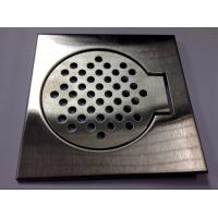 Wholesale Brushed Floor drain Bathroom Hardware Collections FOR BATHROOM FLOOR from china suppliers