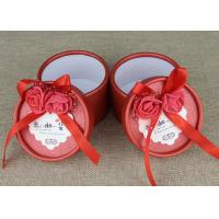 Wholesale Custom Labeling Red Wedding Ribbon Mini Carboard Paper Cans Packaging from china suppliers