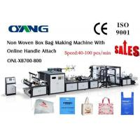Wholesale High Speed Ultrasonic Sealing Non Woven Bag Making Machine Approved CE from china suppliers