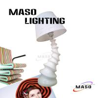 Wholesale Tornado Shape Resin Modern Art Design Table Lamp Made of Resin Cloth Cover MS-T1007 from china suppliers