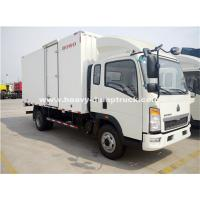 Wholesale Sinotruk Light Duty Ice Box Truck Right Hand Driving Truck With KV 300 Refrigerator from china suppliers
