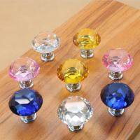 Wholesale Crystal Door Knobs Cabinet Pulls Drawer Furniture Handles Hardware from china suppliers