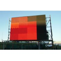 Wall Mount Huge Outside Full Color 10mm LED Display Billboard With SMD 3 in 1