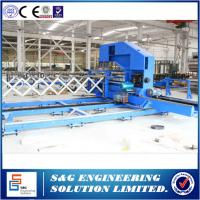 Wholesale Sandwich Panel Roll Forming Machine Continuous Line For Industrial & Residential Sectional Doors from china suppliers