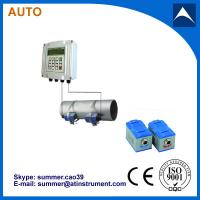 Wholesale Wall Mounted Clamp On Type Ultrasonic Flowmeter/Fixed Ultrasonic Flow Meter with reasonabl from china suppliers