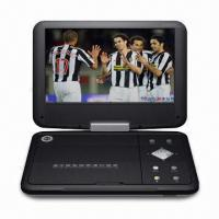 Wholesale Portable DVD Player with 9-inch TFT LCD, 2 x 1.5W Stereo Audio Output and 270° Swivel Screen  from china suppliers