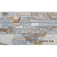 Wholesale Grey/Rusty Slate S Stone Cladding,Cemented Stacked Stone,Thick Natural Stone Panel for Wall Decor from china suppliers