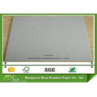 Wholesale 2.5mm Book Binding Cover , Mixed Pulp Strong Stiffness Grey Board Paper from china suppliers