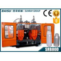 Wholesale PP Transparent Bottle Automatic Blow Molding Machine SIEMENS Motor Driven SRB80D-3 from china suppliers