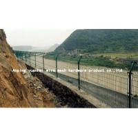 Wholesale Durable Waterproof Security Wire Fencing , Wire Mesh Garden Fence Panels Simple Design from china suppliers