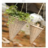 Wholesale Decorative hanging basket Willow basket rattan basket from china suppliers