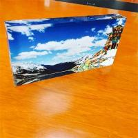 Wholesale wholesale clear acrylic paperweight with EXW price from china suppliers