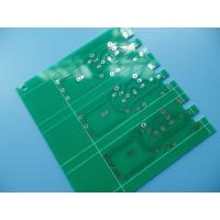 Quality 1.2mm Single Sided PCB Green Solder Mask HASL LF For Electronics for sale