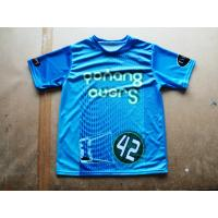 Wholesale Jersey Sublimated Sportswear , Brilliant Colors Short Sleeve from china suppliers