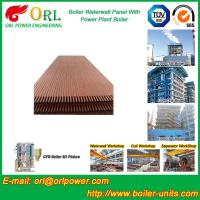 Wholesale Solid Fuel Boiler Water Wall Tubes , High Temperature Water Wall In Boiler from china suppliers
