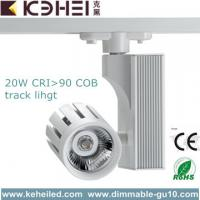 Wholesale 20Watt AC 110 - 260V LED Track Lighting With 24°Beam Angle White / Black from china suppliers