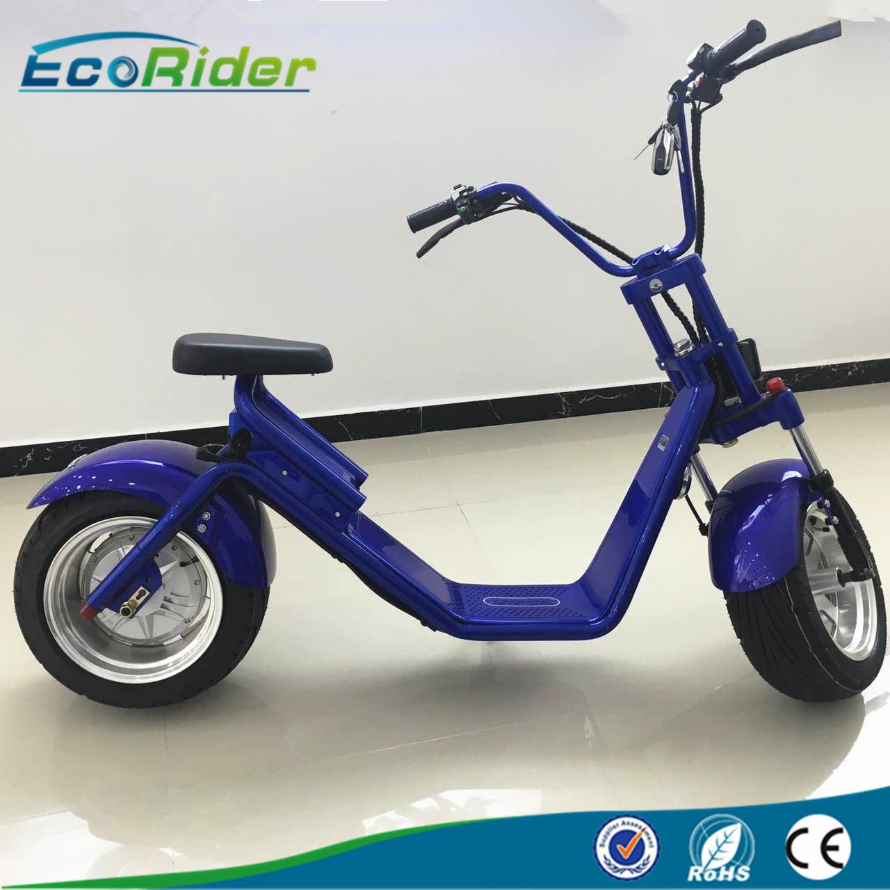 Wholesale Led Light Double Seat 2 Wheel Electric Scooter Bike With Disc Brake from china suppliers