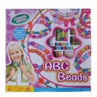 Wholesale Fashion Creative Bead Jewelry Set Toy for Girls from china suppliers