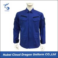Wholesale Men'S ACU Black Military Coat / Army Winter Jacket With Rib Tape Collar , OEM ODM Service from china suppliers