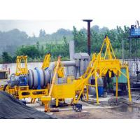 Wholesale Aggregate Bitumen 30 TPH Double Drum Asphalt Mixing Plant With 97 KW Oil Burner from china suppliers