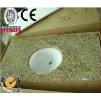 Wholesale Santa Cecilia dark Golden light yellow granite bathroom vanity countertops with Sink from china suppliers