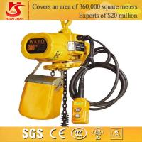 Wholesale Electric chain hoist/small electric pulley hoist/electric 300kg chain hoist from china suppliers