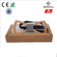 Wholesale Black / Red / green Handmade Wood Accessories Natural Wooden Bow Tie from china suppliers