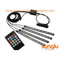 Wholesale Multicolor Music Car Interior Light / 5050 RGB LED Underdash Lighting Kit from china suppliers