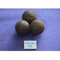 Wholesale Mines Unbreakable Hot Rolled D90mm Grinding Balls For Mining , Steel Ball for Mine Dressing Plant from china suppliers