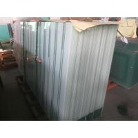 Wholesale White Painting Architectural Acid Etched Glass Panels For Office Wall / Door , 10mm Toughened from china suppliers