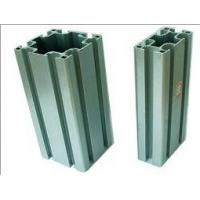 Acid Resistant Shining Structural Aluminum Profiles Silver White Color