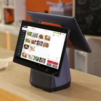 China Smart Large Touch Screen POS Terminal Multi Point For Supermarket Catering on sale