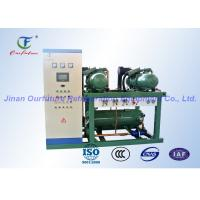 Wholesale Blast Freezer Bitzer Screw Compressor Rack with PLC controller from china suppliers
