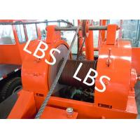 Quality Oil Drilling Equipment Offshore Winch Tractor Hoist Winch / Well Servicing Unit Winch for sale