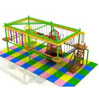 Wholesale teenager indoor adventure play equipment wooden climbing play land for shopping center from china suppliers